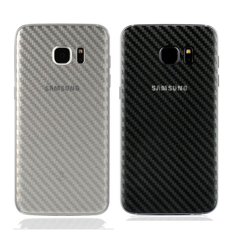 Карбоновая защитная пленка для Samsung Galaxy S7 Edge G935