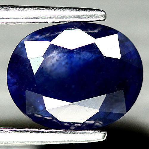 2.27 кт Природний синій сапфір Мадагаскару 9х7 мм