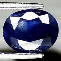 2.27 кт Природний синій сапфір Мадагаскару 9х7 мм, фото 1