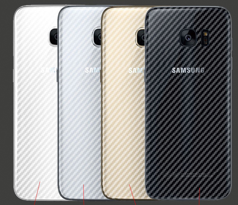 Карбоновая защитная пленка для Samsung Galaxy S6 G920