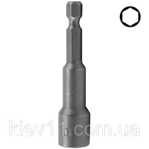 Головка на шуруповерт 7мм L=65мм магнитная  TOPTUL BEAA0807