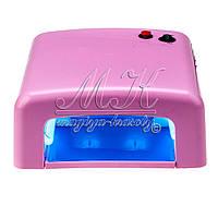 Ультрафіолетова лампа 36 Вт, світло рожева 818