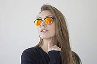 Очки Clubmaster желтые 9904-5