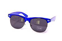 Очки Clubmaster синие 034-1