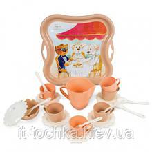 Набор игрушечной посуды Модное чаепитие 39410 на 22 предмета