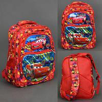 Школьный ортопедический рюкзак 555-455 Тачки