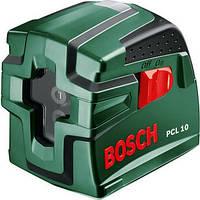 Лазерный нивелир, линейный, 10 метров, Bosch PCL 10