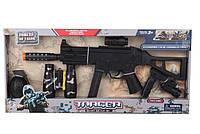 Военный набор оружия 2119H, Детский набор для мальчика от 3-х лет, Игровой военный набор с автоматом