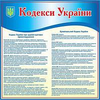 Стенд Кодекс України
