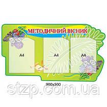 Стенд Методический вестник (зеленый)