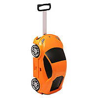 Чемодан на колёсах машинка Lamborghini Huracan оранжевый, «Ridaz» (91002W-Orange)