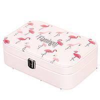 "Шкатулка для украшений ""Nice flamingo"" (22х14,5х7)"
