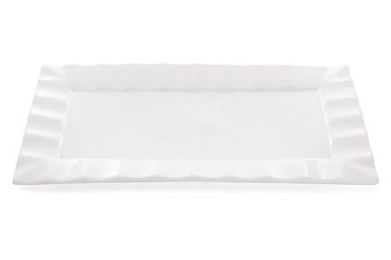 Тарелка для суши прямоугольная 30см, цвет - белый, 988-104, фото 2