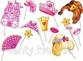"""Набор для фотосессии """"Маленькая Принцесса"""" 12 предметов"""