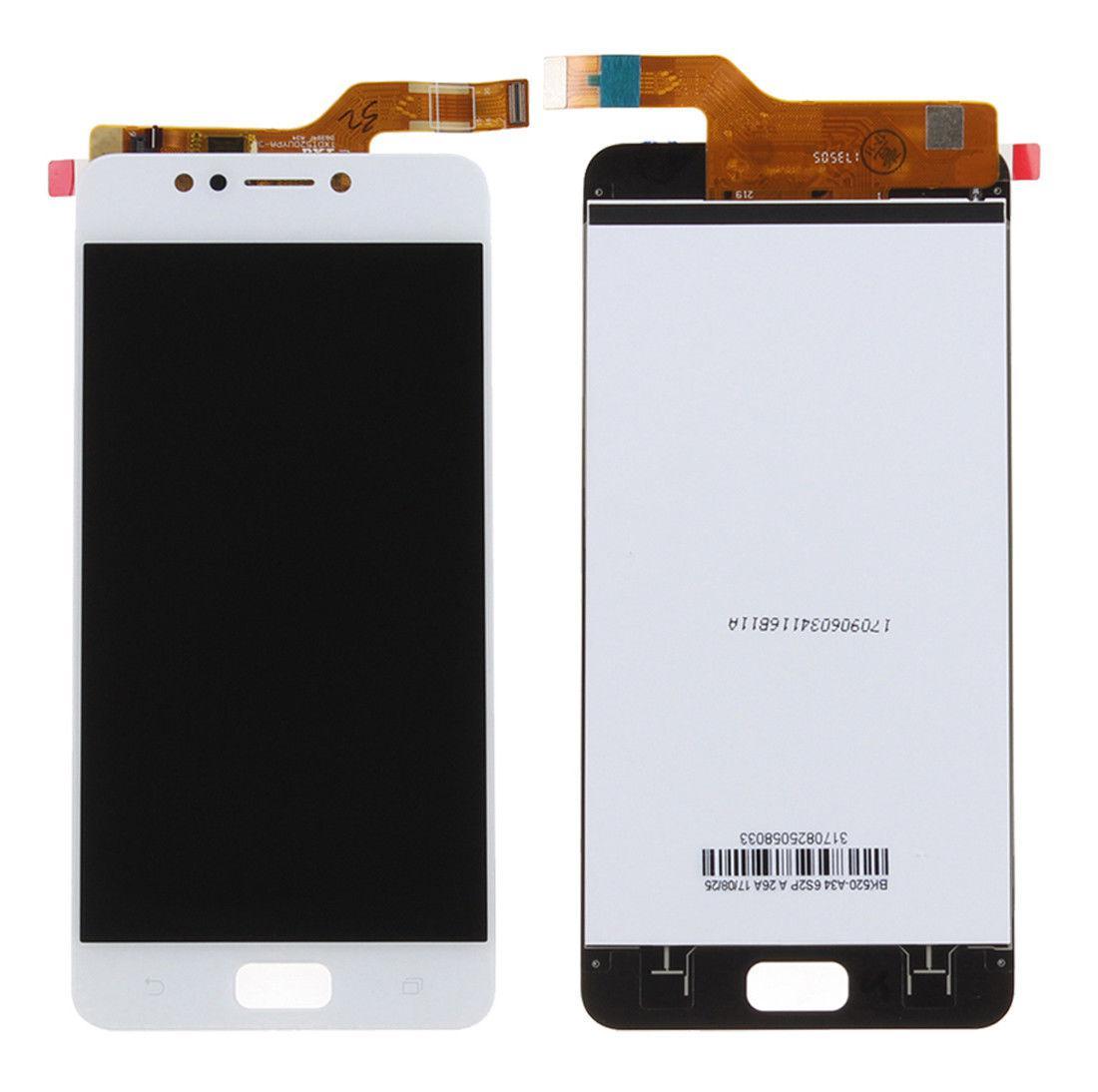 Дисплей (экран) для Asus ZenFone 4 Max (ZC520KL) с сенсором (тачскрином) белый Оригинал