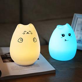 Силиконовые ночник-светильники
