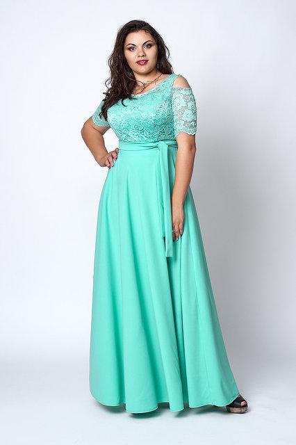 Длинное женское платье Код анг568-3