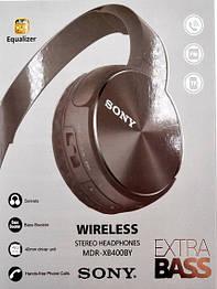 Бездротові блютус навушники Sony MDR-XB400BY