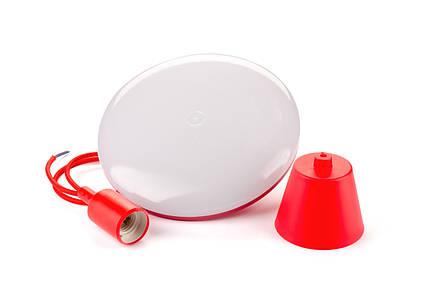 Светильник светодиодный подвес 24 Ватта круглый красный Galaxy LED