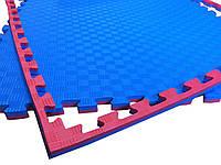 """Спортивные маты татами """"ласточкин хвост"""", 1м х 1м, 25 мм, плотность 120 кг/м.куб."""