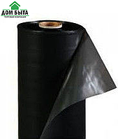 Пленка черная (первичная) для мульчирования Планета Пластик 1.20м полотно*40мкр*500м
