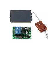 e63b1695202a Одноканальный электрический радио выключатель напряжения 220В 10А  беспроводной с пультом управления до 50м