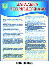 Стенд Загальна територія держави (блакитний)