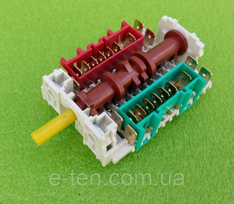 Переключатель мощности шестипозиционный 11HE-033 / P-0918 для электродуховок, электроплит    DREEFS, Италия