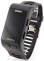 Наручные часы LED Skmei, черные, фото 1