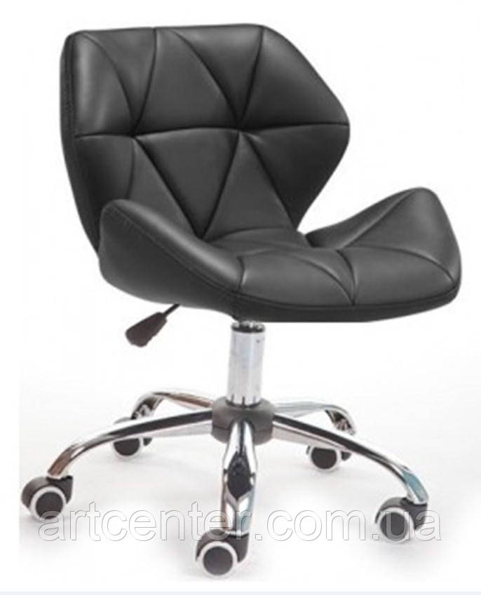 Кресло для мастера, кресло черное (СТАР НЬЮ)
