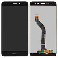 Дисплей (экран) для Huawei GT3 NMO L-31 с сенсором (тачскрином) черный Оригинал