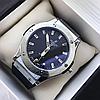 Мужские Часы Hublot Geneve Silver Хублот, чоловічий годинник, серебряный, фото 4