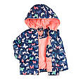 Осенняя куртка с бабочками на девочку 6-7 Smyk Польша Размер 122, фото 2
