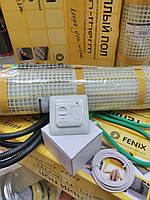 Нагревательный мат 2.2м.кв + термостат In-Term (Чехия), фото 1