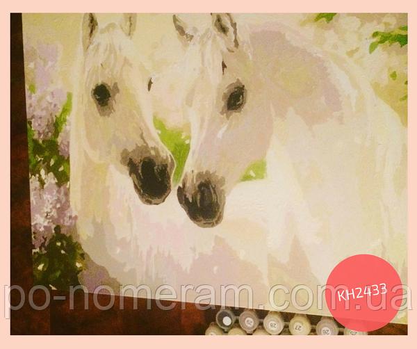 картины своими руками лошади
