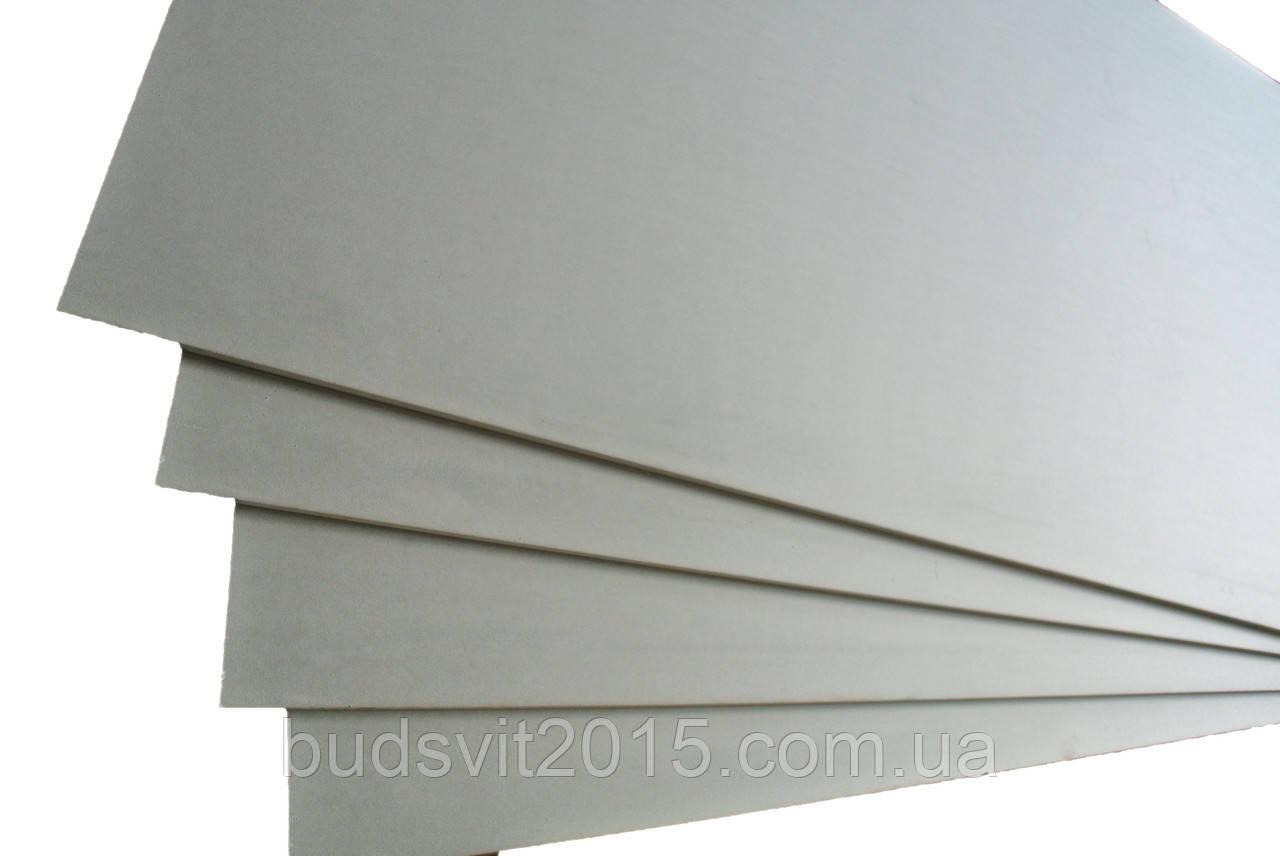 Гипсокартон стеновой 2500*1200*12,5 мм Plato
