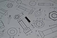 Штифт 2 мм пружинный цилиндрический разрезной DIN 1481, ГОСТ 14229-93, фото 1