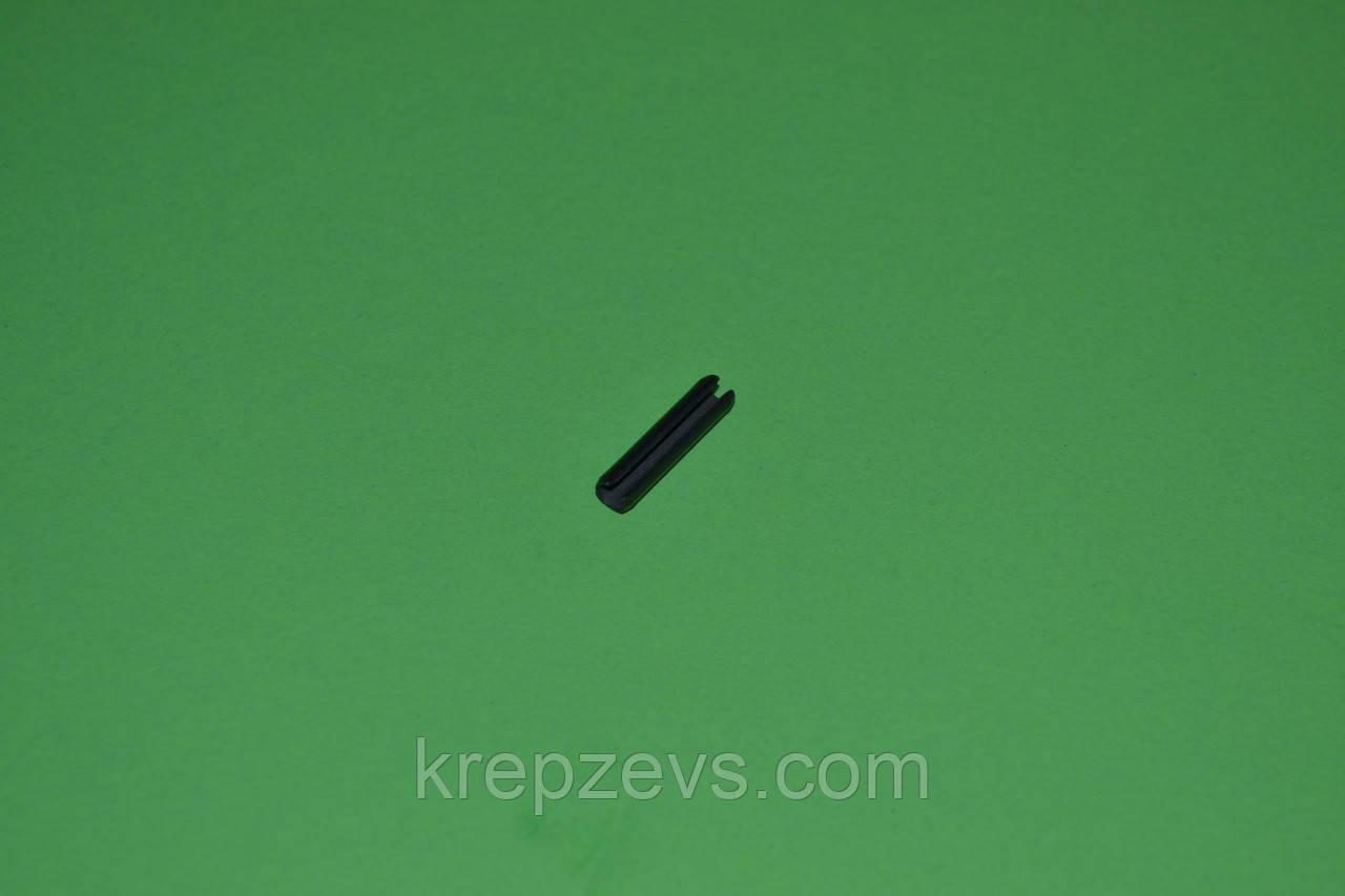 Штифт 2,5 мм пружинный цилиндрический разрезной DIN 1481, ГОСТ 14229-93