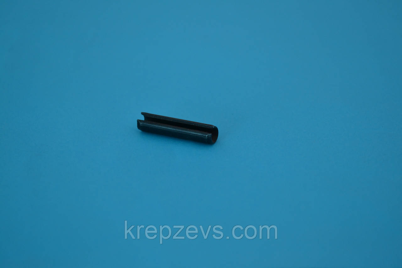 Штифт 3 мм пружинный цилиндрический разрезной DIN 1481, ГОСТ 14229-93