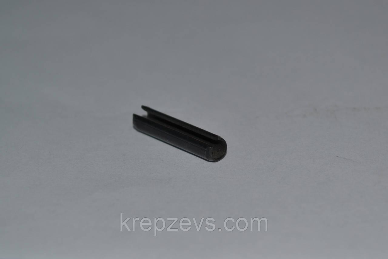 Штифт 4 мм пружинный цилиндрический разрезной DIN 1481, ГОСТ 14229-93