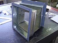 Гибкая вставка прямоугольная к вентиляторам с фланцами из уголка Н.00.00 115х115 серия 5.904-38