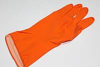 Перчатки кухонные (резиновые) S