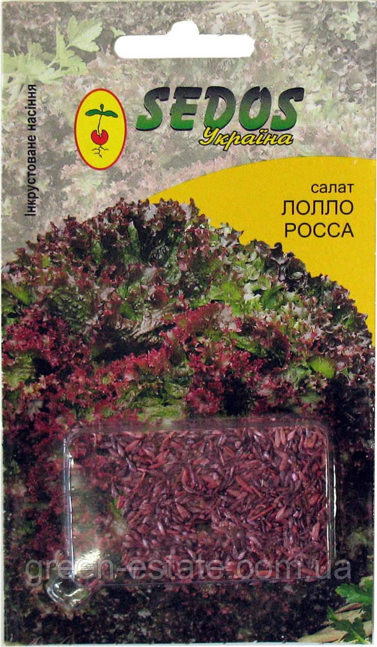 Семена салата Лолло Росса