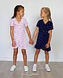 Платье для девочки с рюшами на запах , фото 4