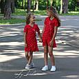 Платье для девочки с рюшами на запах , фото 10