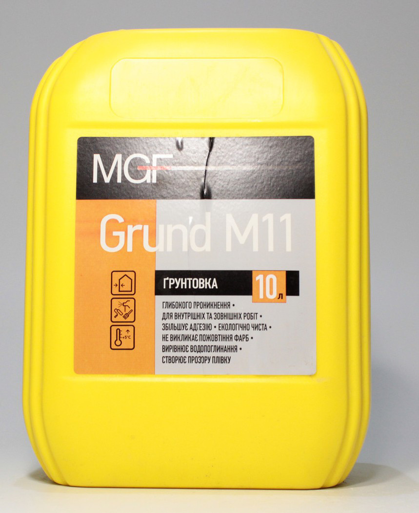 MGF Ґрунтовка еко грунт М11 (10л)