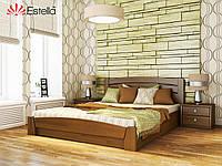 Двоспальне ліжко з підйомним механізмом Estella Селена Аурі