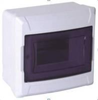 Щиток на 4  автомата скрытой  установки  DE-PA