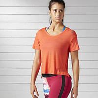Женская футболка Reebok Workout Ready Activchill Slub (Артикул: BK4880)