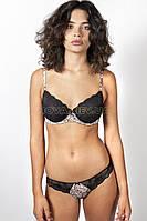 30103 Комплект женского нижнего белья Gisela черный (75C/M)